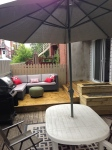 DIY terrasse... version presque finale!