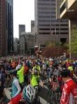 Notre sortie annuelle de vélo à Boston dans le cadre du Hub and Wheel. Notre 4e édition!